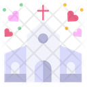 Church Building Wedding Icon