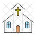 Church Building God Icon
