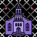 Church Ceremony Bride Icon
