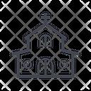 Church Chapel Home Icon