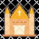Church Building Christian Icon