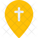 Church Location Christmas Icon