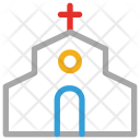 Church Building House Icon