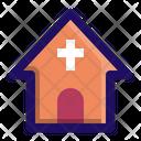 Church Christian Building Icon