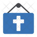 Easter Banner Board Icon