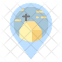 Church Location Pin Icon