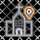 Church Location Catholic Icon