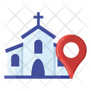 Church Location Christianity Address Church Address Icon