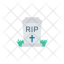 Churchyard Rip Coffin Icon