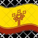 Flag Country Chuvashia Icon