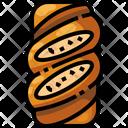 Ciabatta Bread Food Icon