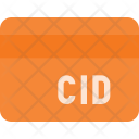 Cid Number Of Card Icon