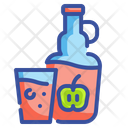 Cider Alcohol Glass Icon