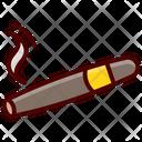 Cigar Smoking Vaping Icon