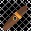 Cigar Smoking Icon