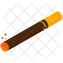 Cigar Pipe Isometric Icon