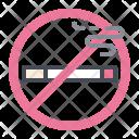 Cigarette No Smoking Icon