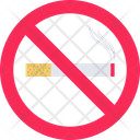 Cigarette No Smoking Smoke Icon