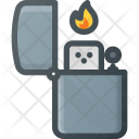 Cigarette Lighter Zippo Icon