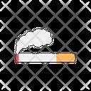 Cigarette Tobacco Smoke Icon