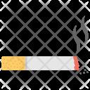 Burning Cigarette Smoking Icon