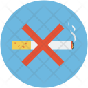 Cigarette Forbidden No Icon