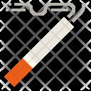 Cigarette Smoking Flame Icon