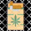 Cigarette Marijuana Maker Icon