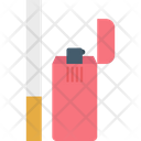 Cigarette Lighter Cigarettes Lighter Icon