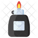 Lighter Ignite Flame Creating Flame Icon