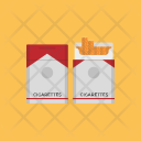 Cigarette Pack Tobacco Icon