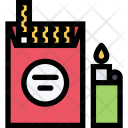 Cigarettes Party Club Icon