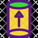 Cilinder Arrow Icon