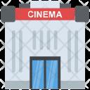 Cinema Building Theater Icon