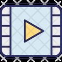 Cinema Media Media Player Icon
