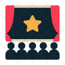 Cinema Theater Audience Icon