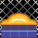 Cinema Movies Building Icon