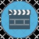 Cinema Clapper Movie Icon