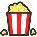 Cinema Movie Popcorn Icon