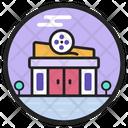 Cinema Theatre Movie House Icon