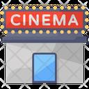Cinema Cinema Auditorium Movie Theater Icon