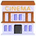 Cinema Building Theater Building Cinema Icon