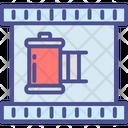 Cinema Film Filmstrip Icon