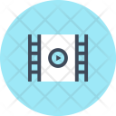 Cinema Film Screen Icon