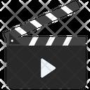 Cinema Clapperboard Clapperboard Scene Clapboard Icon