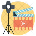 Action Photography Lights Icon