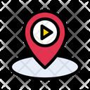 Location Cinema Map Icon