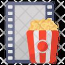 Cinema Popcorn Movie Snacks Film Snacks Icon