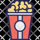 Cinema Refreshment Corn Popcorn Icon