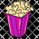 Popcorns Popcorn Snacks Cinema Snacks Icon